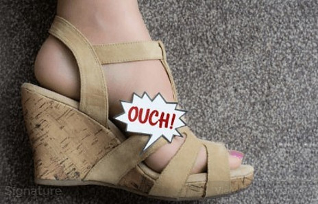 Signs And Symptoms Of Morton's Neuroma - Painful Wedge Heels